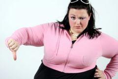 Жир мешает женщинам наслаждаться сексом
