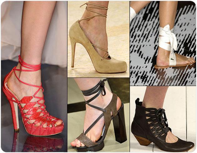 Мужчина, женщина и обувь