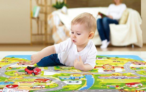 Основные преимущества развивающего коврика для малыша