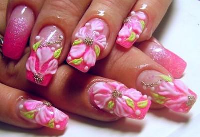 Преимущества нарощеных ногтей