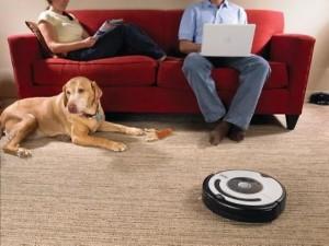 Робот-пылесос защит всю семью от аллергии на пыль