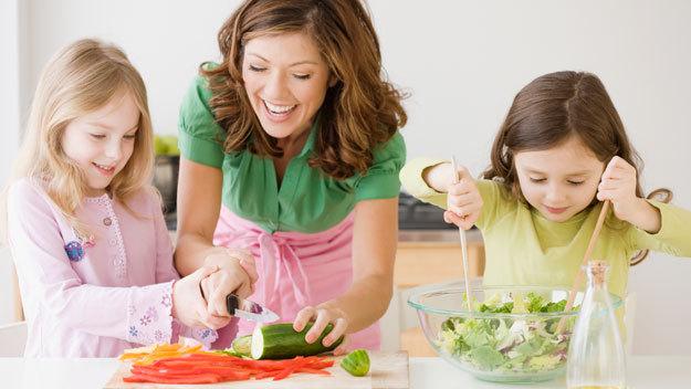 Кухня как место для развития ребёнка