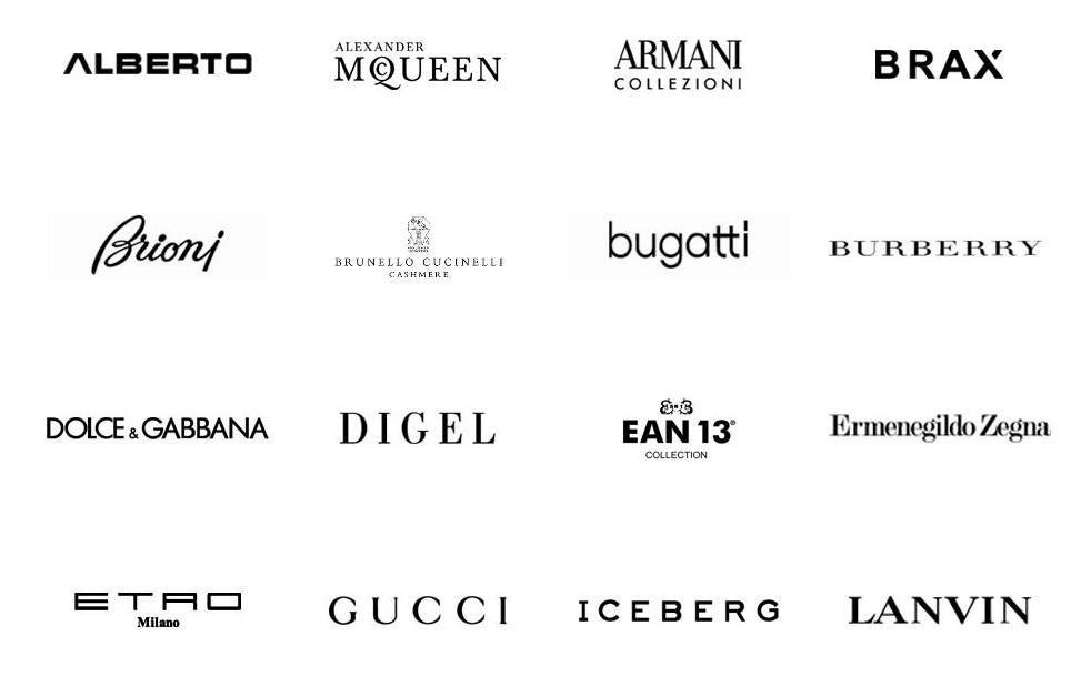 Брендовые Марки Одежды Список