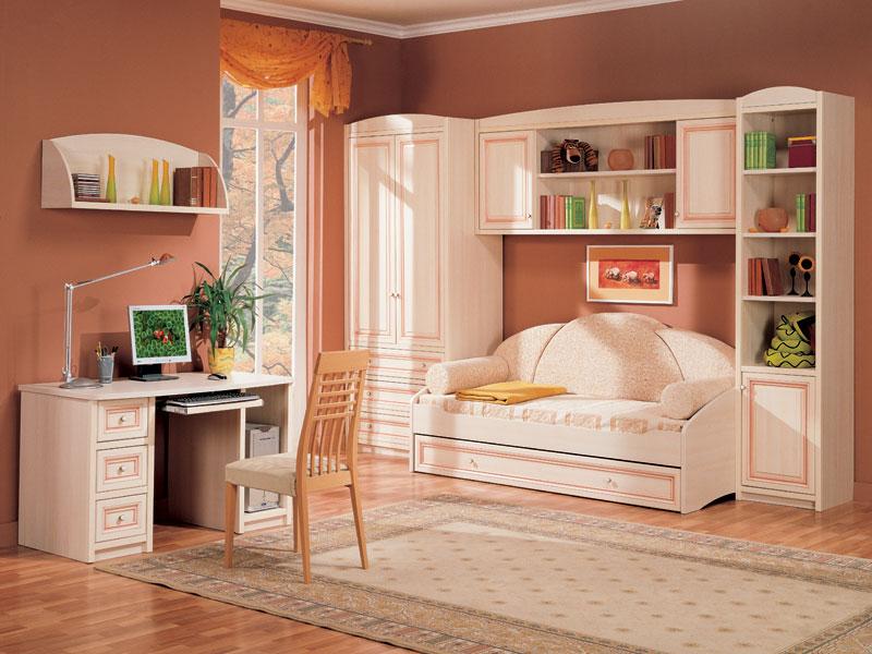Практичная и эстетичная мебель в детскую комнату выбираем вместе