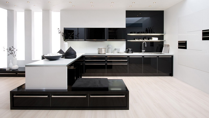Домашний интерьер. Кухня