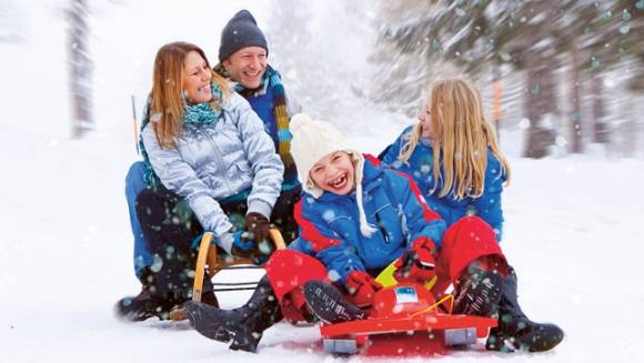 Наступили зимние каникулы