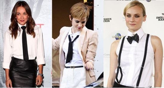 Модный аксессуар — женский галстук
