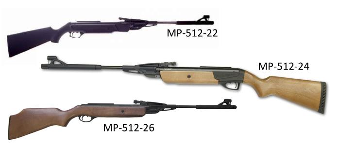 Краткий обзор пневматической винтовки МР-512-36.