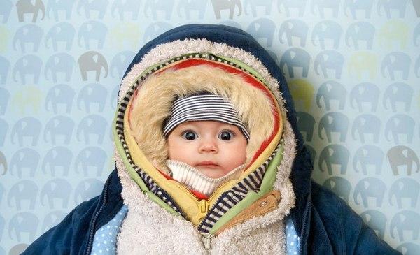 Как одеть малыша на выписку из роддома зимой?!