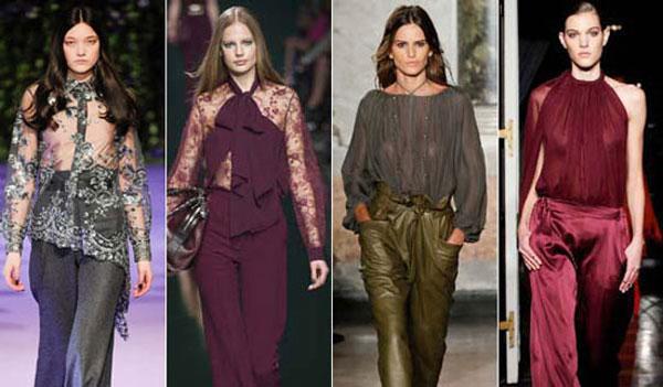 Модная блузка 2016