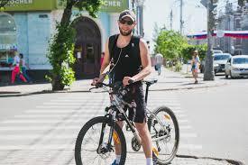 На велосипеде в соседний город