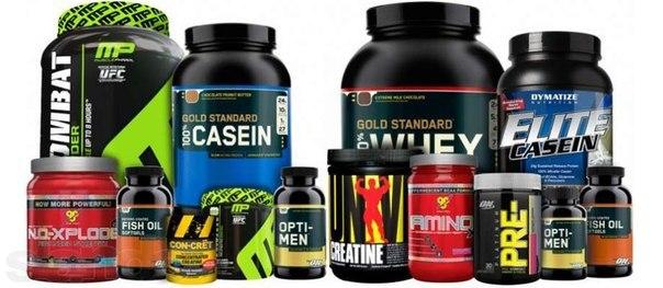 Спортивное питание для увеличения мышечной массы