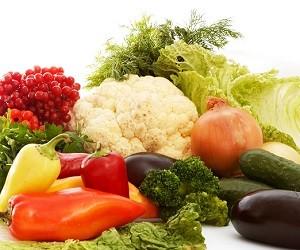 Стремление есть много овощей провоцирует рак