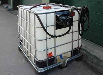 Мини АЗС дизельного топлива для предприятий