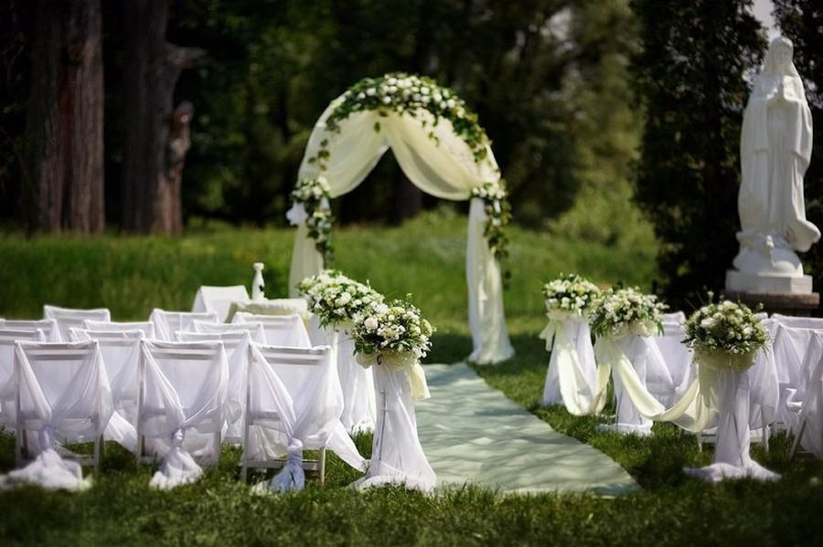 Выездная регистрация брака — свадьба на природе