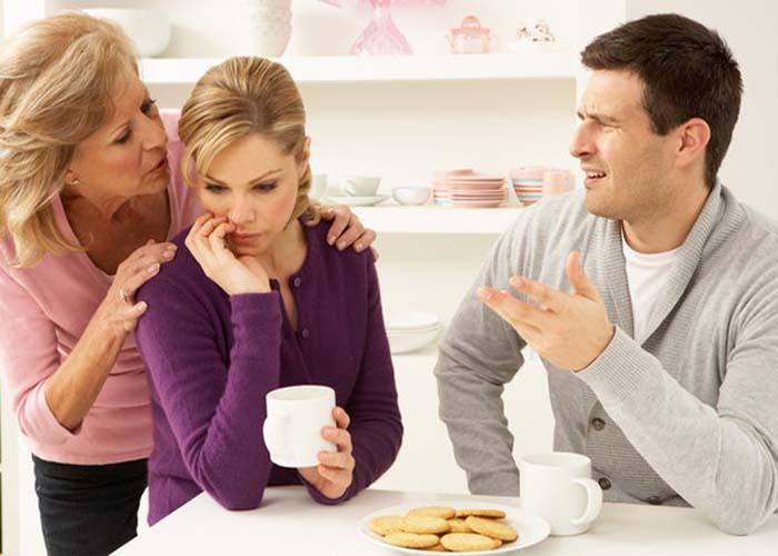 Я+Муж+Мама = Семья?