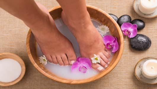 Рецепты ванночек для ног в домашних условиях