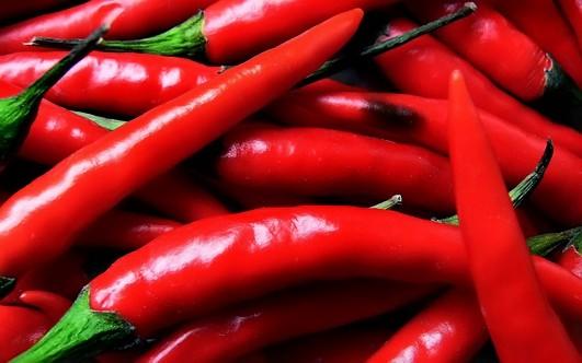 Жгучий красный перец против целлюлита