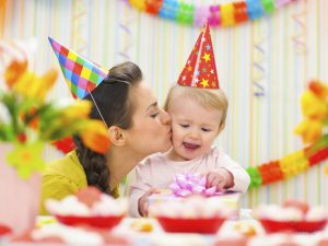 Украшаем комнату для первого Дня рождения ребенка