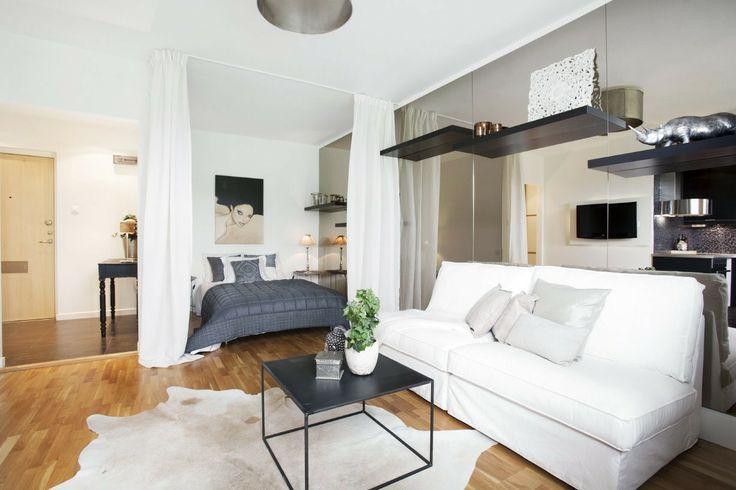 Как объединить спальню и гостиную?