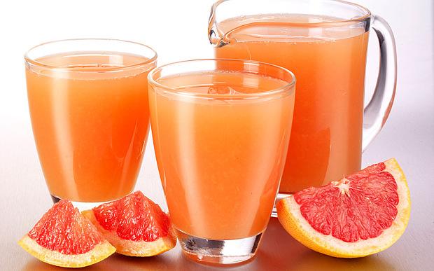 Как пить грейпфрутовый сок для похудения