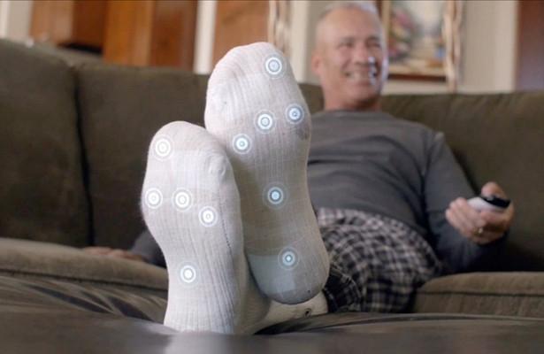 Разработаны «умные» носки для диабетиков