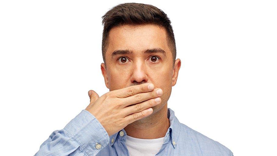 Как убрать запах перегара изо рта