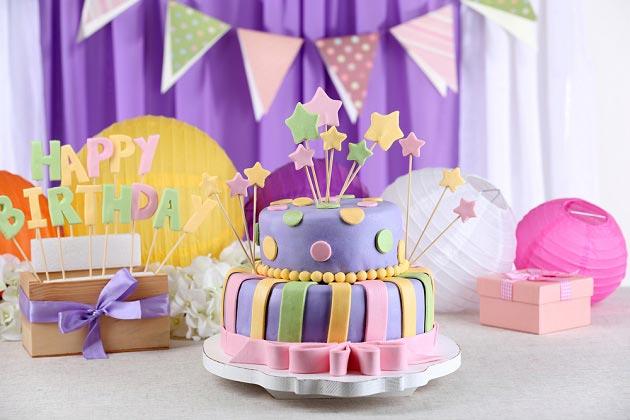 Украшение детской на День рождения