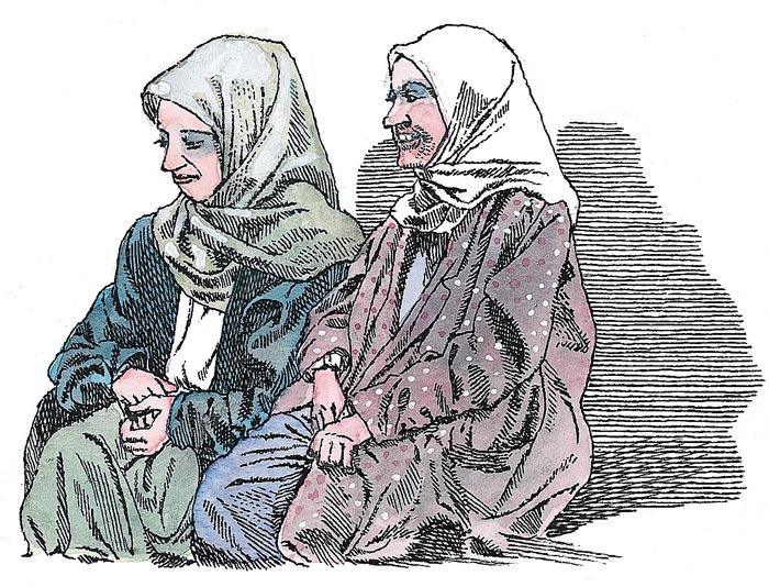 Почему твоя мама всегда носит на голове платок