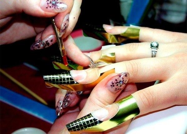 Система моделирования ногтей