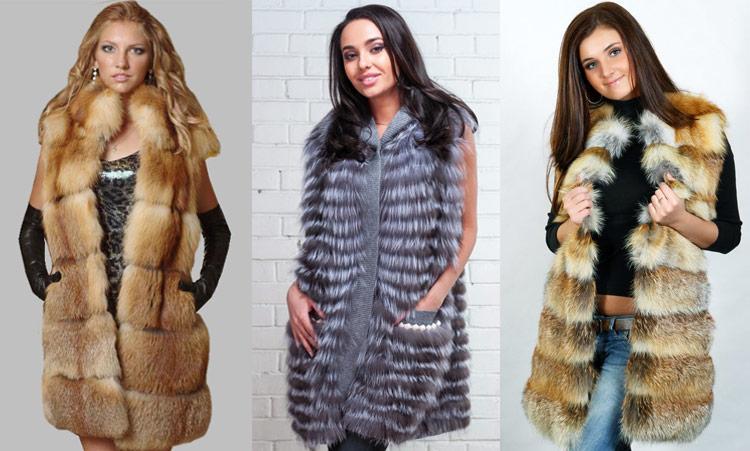 Как выбрать женскую меховую жилетку?