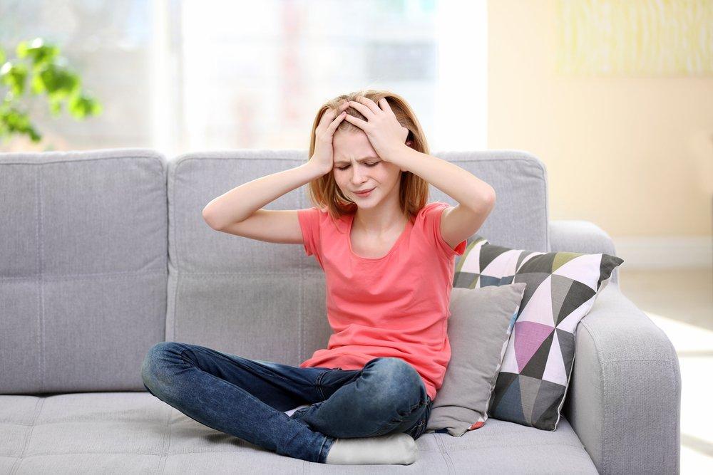 Раннее созревание девочек повышает риск мигреней