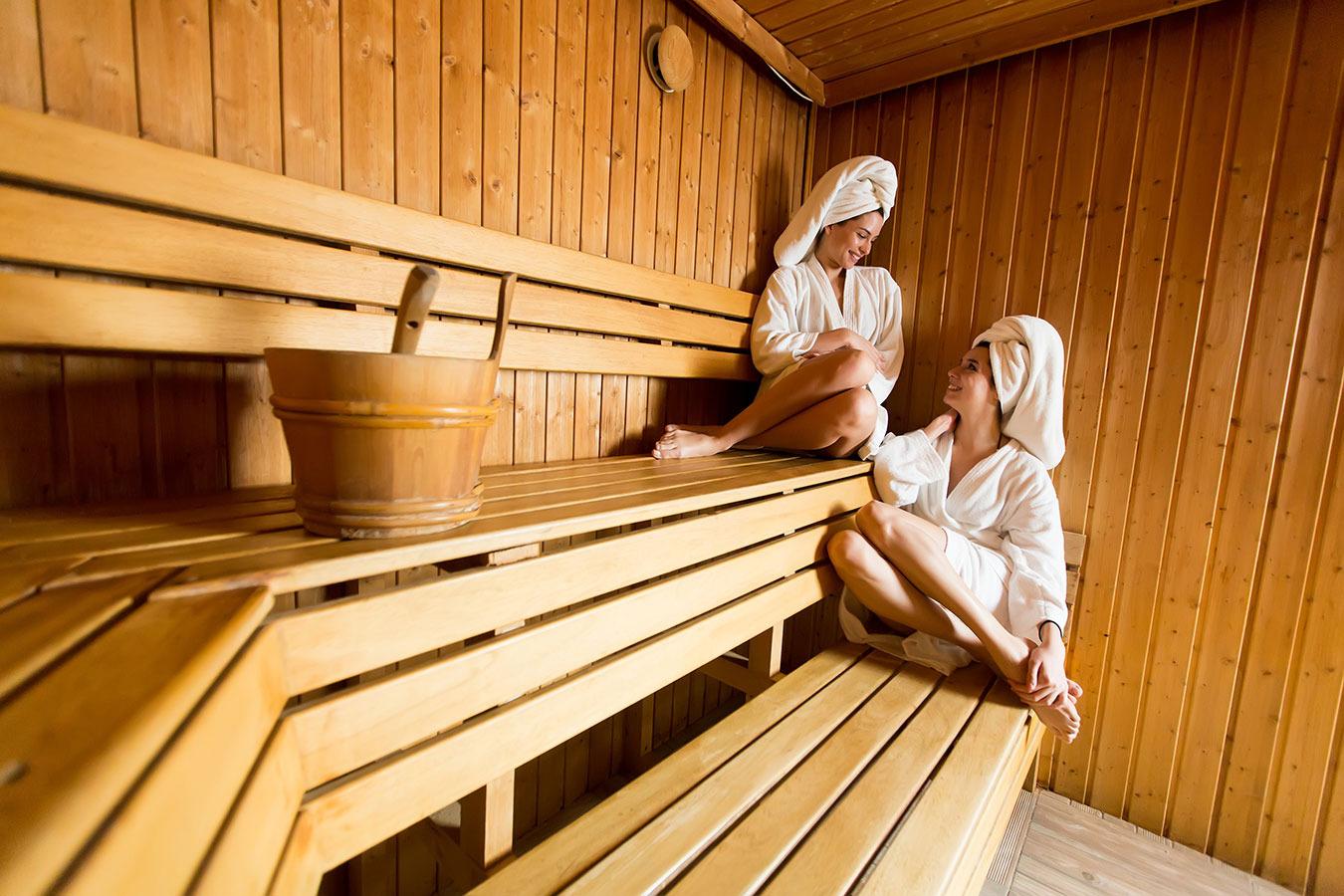 Как правильно ходить в финскую сауну