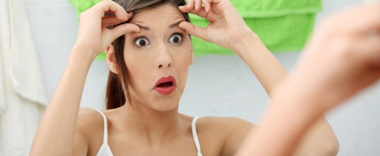 Как убрать межбровные морщины без косметолога